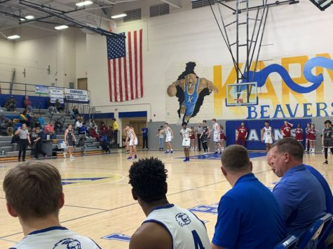 GAME RECAP: The Varsity Boys Wildcats pounce on the Varsity Boys Beavers 83-52