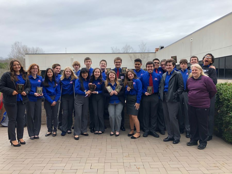 Karns Excels in TSA Regionals with 10 Titles Awarded