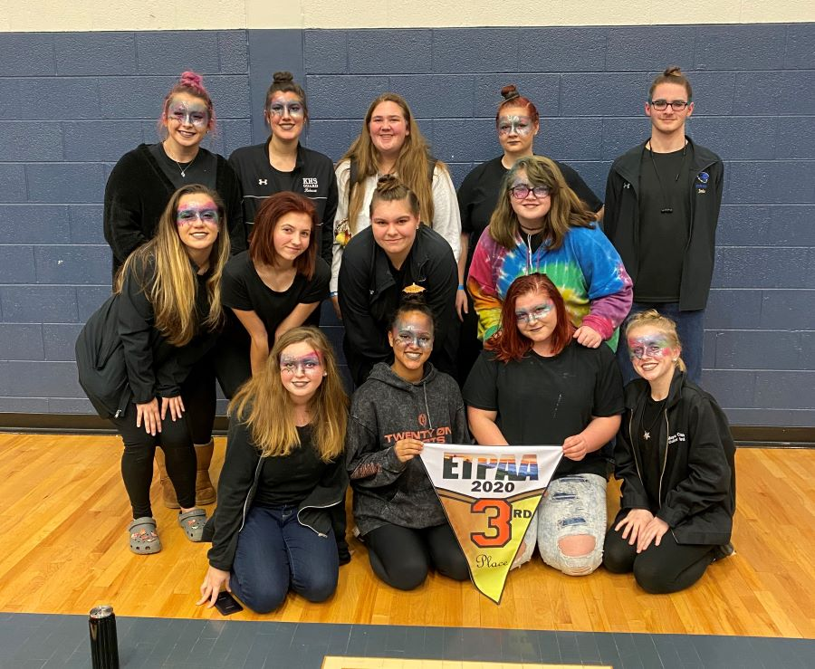 A New Season Begins for KHS Winterguard