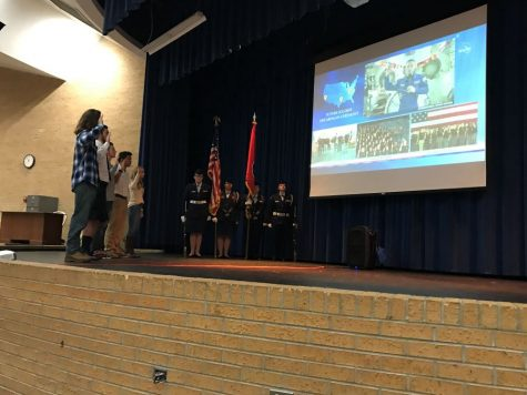 KHS Students Make History - Sworn In From Space