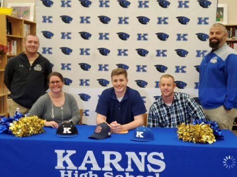 Grif Hughes Signs With Carson Newman