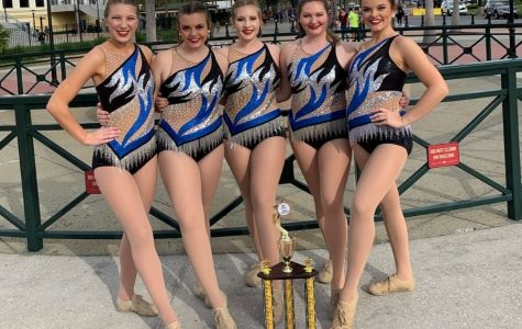 Karns High School's Majorettes Twirl Their Way to First Place