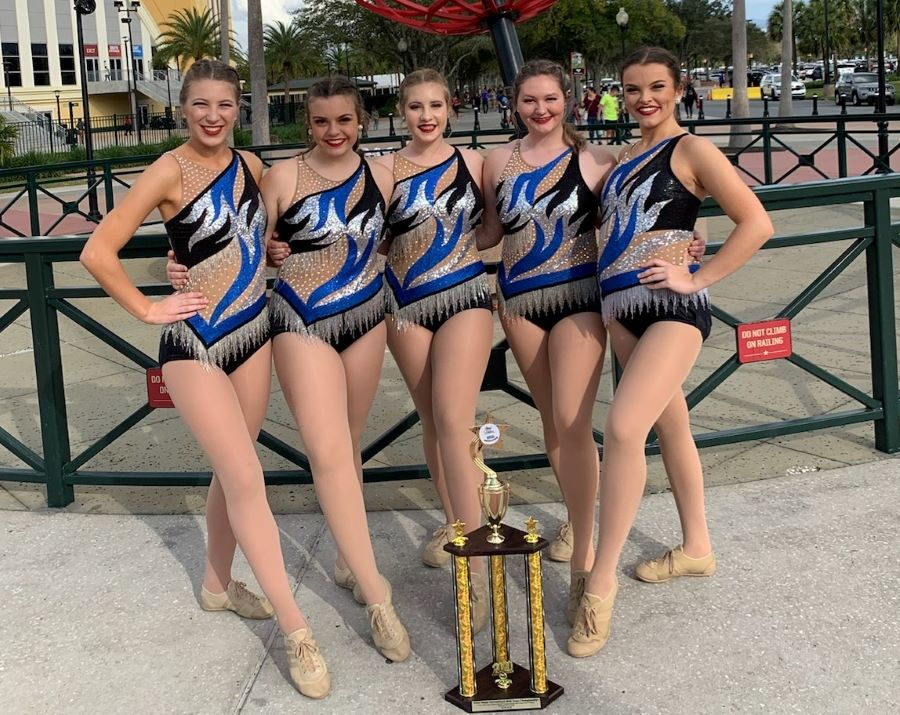 Karns+High+School%E2%80%99s+Majorettes+Twirl+Their+Way+to+First+Place