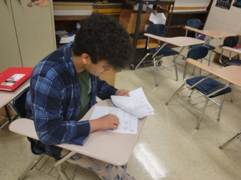 New ACT Prep. Program at KHS Helps Seniors Improve Scores for College Applications